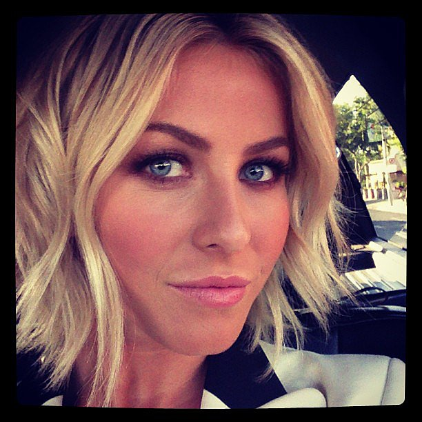 Julianne-Hough-proves-smoky-eyes-bold-brows-classic-pair
